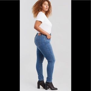 Levi's Jeans - Levis 310 Shaping Super Skinny Light Wash Jeans